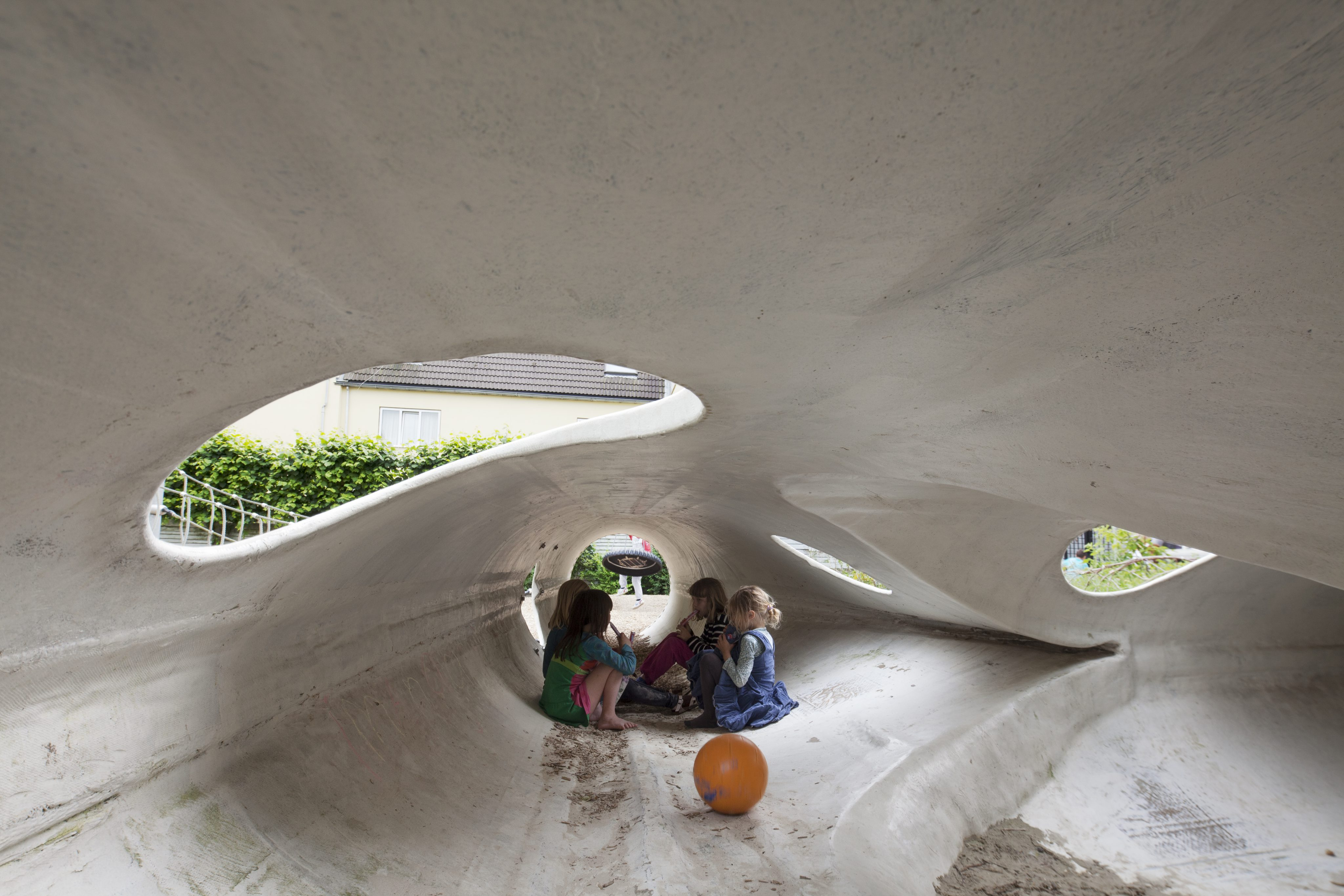 Beautiful interior space for the playground in Rotterdam.