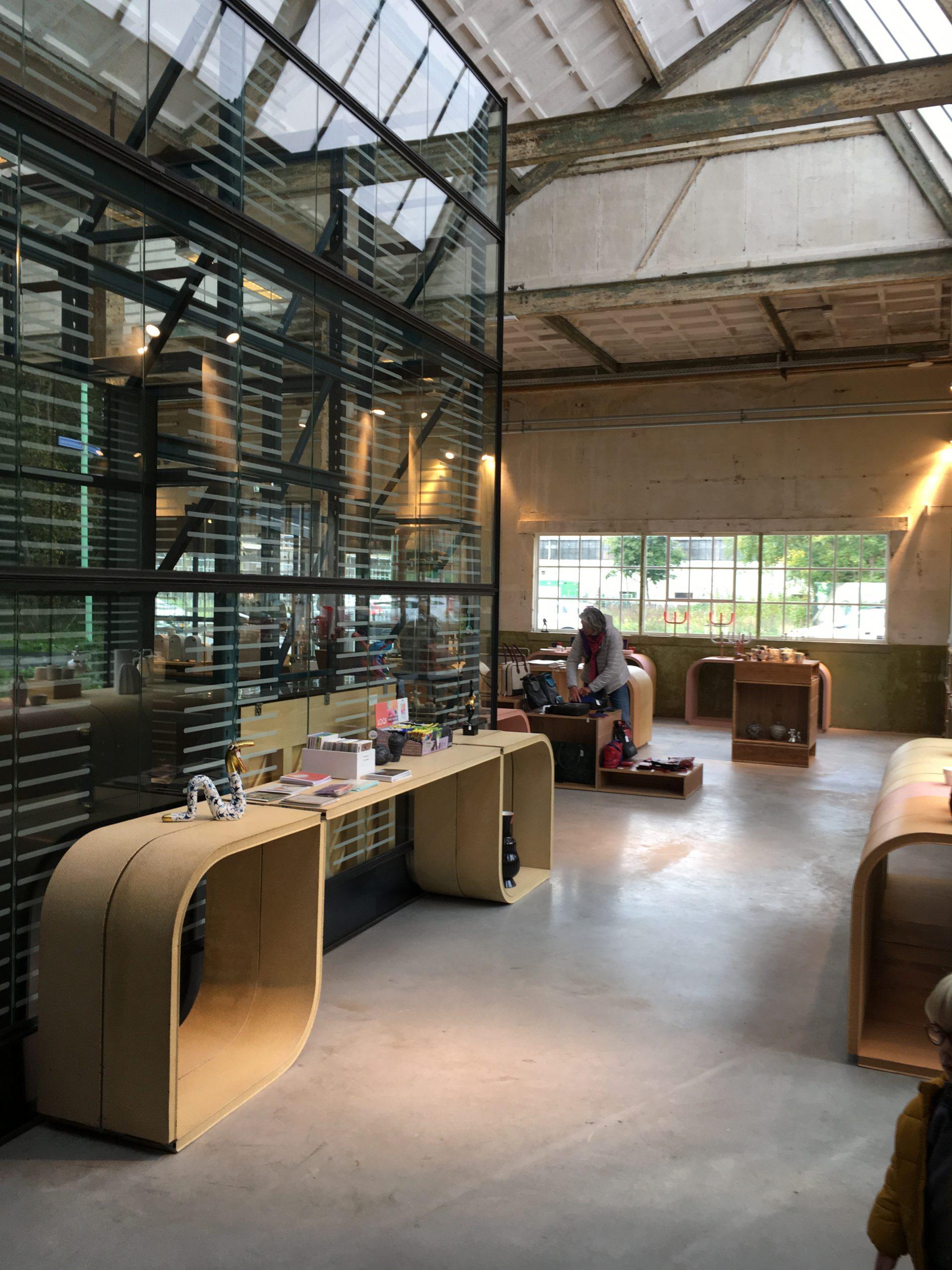The museum shop of Art Zaanstad.